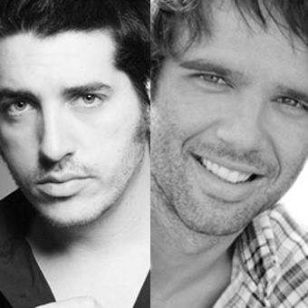Ignasi Vidal y Raúl Peña, actores de 'La Bella y la Bestia'
